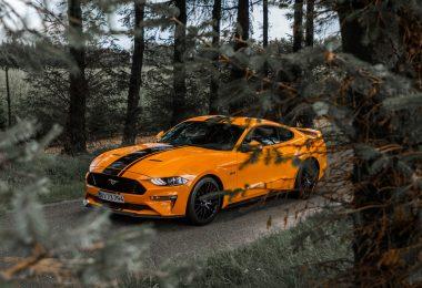 Ford Mustang V8 GT Nicolai Hald Biltest Danmark